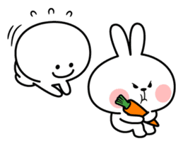 Spoiled Rabbit [Smile Person] sticker #9425109