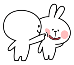 Spoiled Rabbit [Smile Person] sticker #9425115