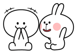 Spoiled Rabbit [Smile Person] sticker #9425116