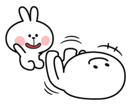 Spoiled Rabbit [Smile Person] sticker #9425117