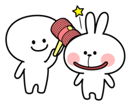 Spoiled Rabbit [Smile Person] sticker #9425123