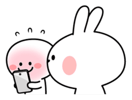 Spoiled Rabbit [Smile Person] sticker #9425129