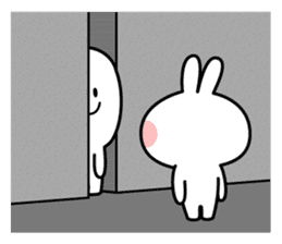 Spoiled Rabbit [Smile Person] sticker #9425137