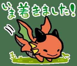 The orient dragon & The western dragon 2 sticker #9426587