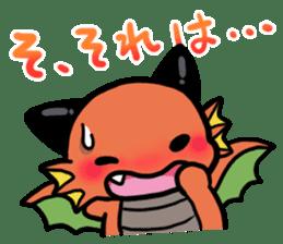 The orient dragon & The western dragon 2 sticker #9426590