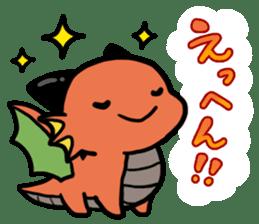 The orient dragon & The western dragon 2 sticker #9426602