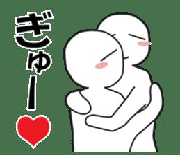 "Earnestly ""hug"" sticker #9428464"