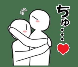 "Earnestly ""hug"" sticker #9428465"