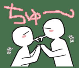 "Earnestly ""hug"" sticker #9428478"