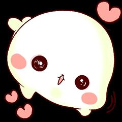 Fluffy seal!