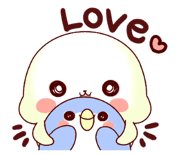 Fluffy seal! sticker #9433945