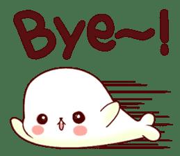 Fluffy seal! sticker #9433949