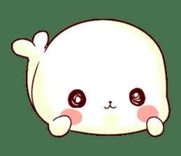 Fluffy seal! sticker #9433951