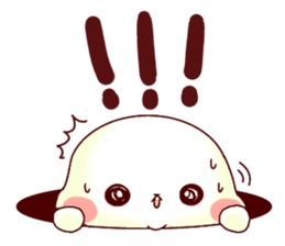 Fluffy seal! sticker #9433952