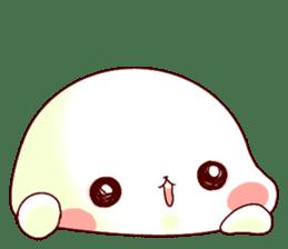 Fluffy seal! sticker #9433953