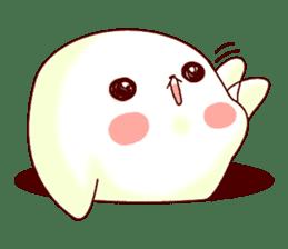 Fluffy seal! sticker #9433954