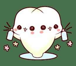Fluffy seal! sticker #9433957