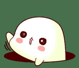 Fluffy seal! sticker #9433960