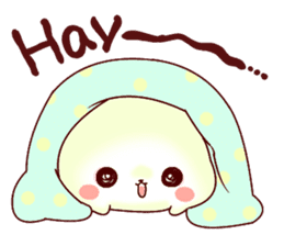 Fluffy seal! sticker #9433961
