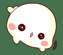 Fluffy seal! sticker #9433969