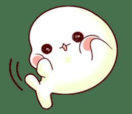 Fluffy seal! sticker #9433971