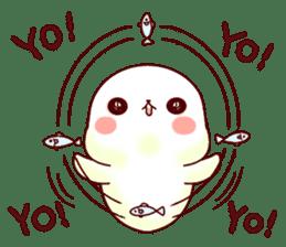 Fluffy seal! sticker #9433979