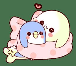 Fluffy seal! sticker #9433981
