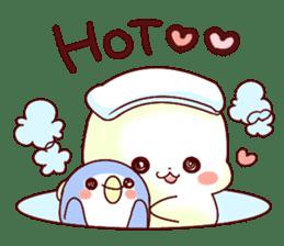 Fluffy seal! sticker #9433983
