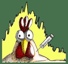 Bird man (torintyu) sticker #9439347