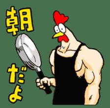 Bird man (torintyu) sticker #9439369