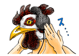 Bird man (torintyu) sticker #9439375