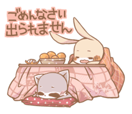 Love!Raccoons&Rabbit3 sticker #9440024