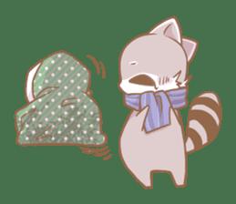 Love!Raccoons&Rabbit3 sticker #9440029