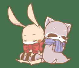 Love!Raccoons&Rabbit3 sticker #9440032
