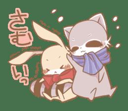 Love!Raccoons&Rabbit3 sticker #9440036