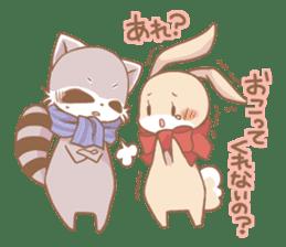 Love!Raccoons&Rabbit3 sticker #9440046
