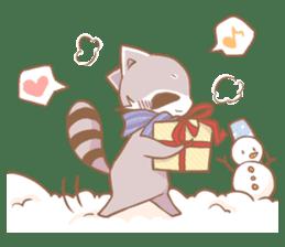 Love!Raccoons&Rabbit3 sticker #9440049