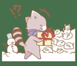 Love!Raccoons&Rabbit3 sticker #9440051