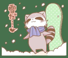 Love!Raccoons&Rabbit3 sticker #9440052