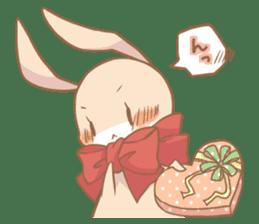 Love!Raccoons&Rabbit3 sticker #9440060