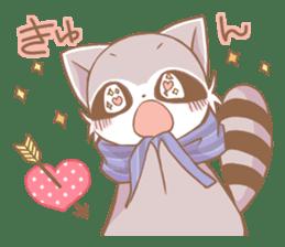 Love!Raccoons&Rabbit3 sticker #9440061