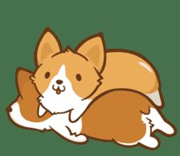 Corgi Dog KaKa - Good Friends sticker #9440549