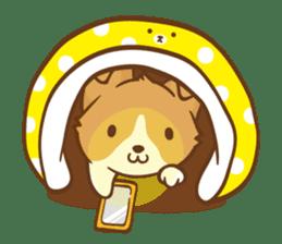 Corgi Dog KaKa - Good Friends sticker #9440575