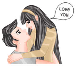 Romantic Couple 2 sticker #9449961