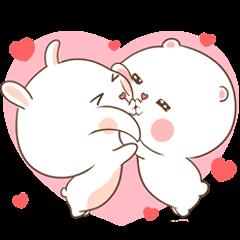 TuaGom : Puffy Bear & Rabbit