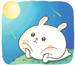 TuaGom : Puffy Bear & Rabbit sticker #9450779