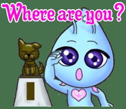 """""""Pleia"""" The Cute Alien part 2 (English) sticker #9451218"""