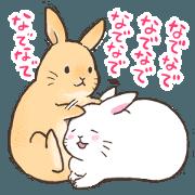 สติ๊กเกอร์ไลน์ 2_Do you have enough of rabbits?