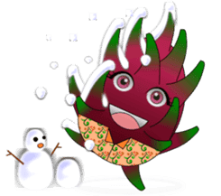 Dragon Fruit sticker #9460013