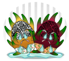 Dragon Fruit sticker #9460014